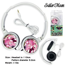 Sailor Moon anime headphone