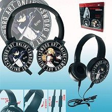 Sword Art Online anime headphone