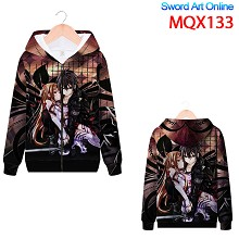Sword Art Online anime long sleeve hoodie cloth