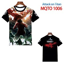 Attack on Titan anime t-shirt