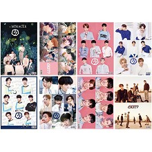 GOT7 star posters(8pcs a set)