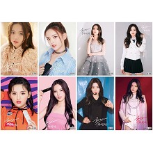 Yang Chao Yue star posters(8pcs a set)