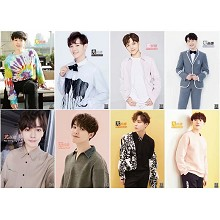 LAY star posters(8pcs a set)