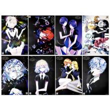 Land of the Lustrous anime posters set(8pcs a set)