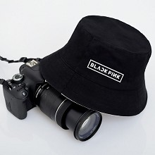 Black Pink star bucket hat