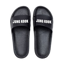 BTS JUNG KOOK star shoes slippers a pair
