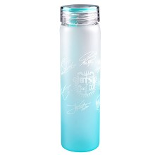 BTS star color glass cup