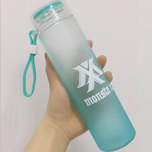 Monsta X star color glass cup