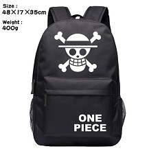One piece backpack bag
