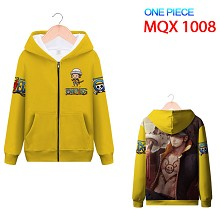 One Piece Law anime long sleeve hoodie cloth