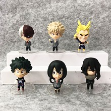 My Hero Academia figures set(6pcs a set)