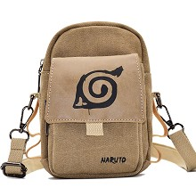 Naruto anime canvas satchel shoulder bag