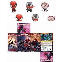 Spider Man figures set(3pcs a set)