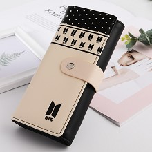 BTS star long wallet