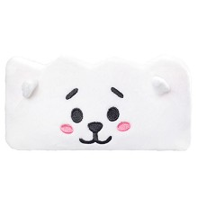 BTS star plush pen bag pencil bag