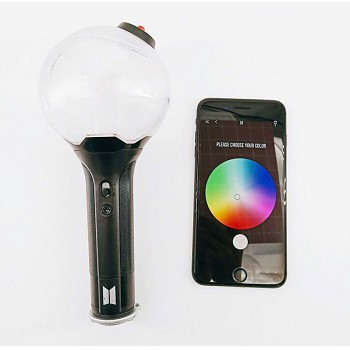 BTS star bluetooth APP control color light