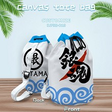 Ginama anime drawstring backpack bag
