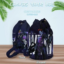 Overwatch drawstring backpack bag