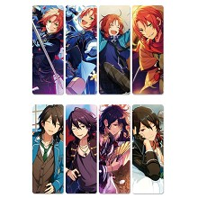 Ensemble Stars anime pvc bookmarks set(5set)