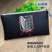 Attack on Titan anime pen bag pencil bag