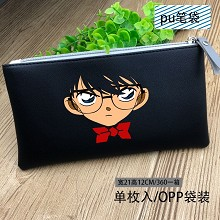 Detective conan anime pen bag pencil bag