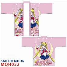 Sailor Moon anime kimono cloak mantle hoodie
