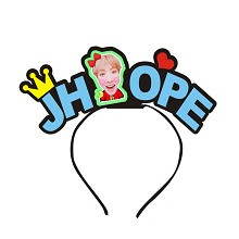 BTS JHOPE star hair band headband
