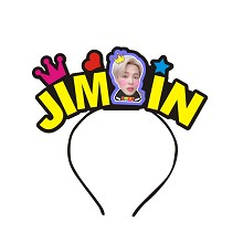 BTS JIMIN star hair band headband