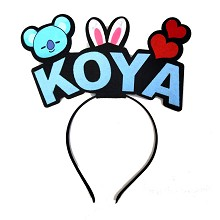 BTS KOYA star hair band headband