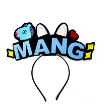 BTS MANG star hair band headband