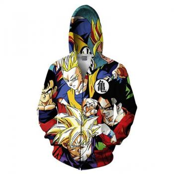 Dragon Ball anime 3D printing hoodie sweater cloth