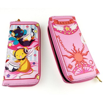 Card Captor Sakura anime long wallet