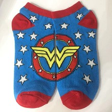 Wonder Woman cotton short socks a pair