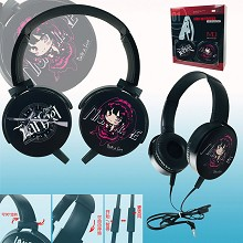 Date A Live Nightmare anime headphone