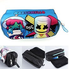 DJ Marshmello anime pen bag pencil bag