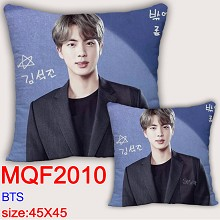 BTS star two-sided pillow