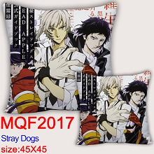 Stray Dogs anime two-sided pillow