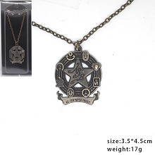 JoJo's Bizarre Adventure anime necklace