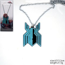 Spider Man anime necklace