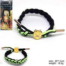 One Piece Zoro anime bracelet