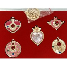 Sailor Moon anime key chains a set
