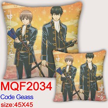 Code Geass anime two-sided pillow