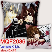 Vampire Knight anime two-sided pillow