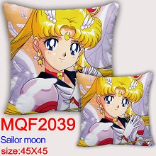 Sailor Moon anime two-sided pillow