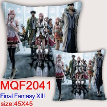 Final Fantasy anime two-sided pillow