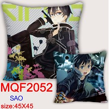 Sword Art Online anime two-sided pillow