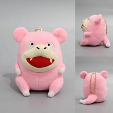 4inches Pokemon Slowpoke anime plush dolls set(10pcs a set)