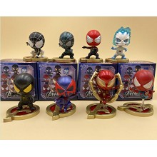 Spider Man figures set(8pcs a set)