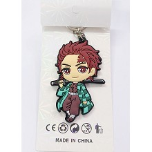 Demon Slayer Kamado Tanjirou anime key chain