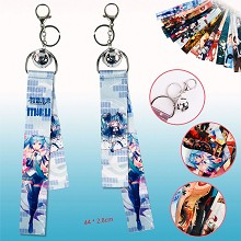 Hatsune Miku anime key chain